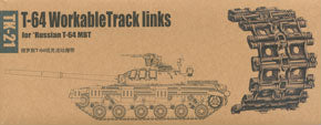 Trumpeter 1/35 scale model 02051 T-64 Series Main Combat Tank with Movable Linked Track