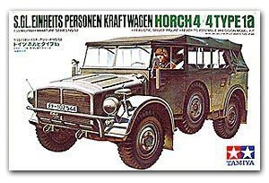 TAMIYA 1/35 scale models 35052 World War II Germany Horith 1a 4X4 six military off-road vehicles