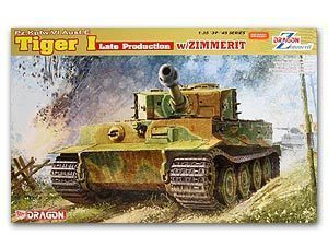 1/35 scale classification Dragon 6383 6 heavy truck tiger-type late and Zimeri anti-magnetic drape