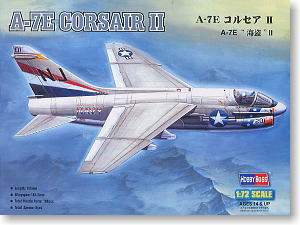 Hobby Boss 1/72 scale helicopter model aircraft 87204 A-7E Pirate II carrier-based attack aircrafts