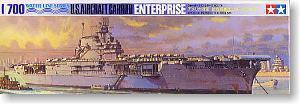 "TAMIYA 77514 World War II US Navy York City CV-6 ""Enterprise"" aircrafts carrier"