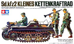 TAMIYA 1/35 scale models 35029 German Kettenkrad