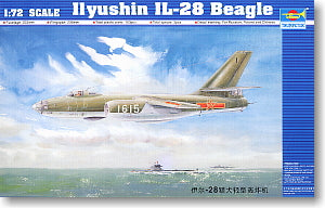 Trumpeter 1/72 scale model 01604 IL-28 Hound Light Bomber