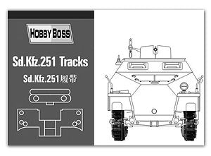 HOBBY BOSS 81005 Sd.Kfz.251 semi-tracked armored vehicles with linked track