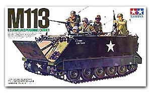 "TAMIYA 1/35 scale models 35040 M113 tracked armored personnel carriers ""Vietnam battlefield"""