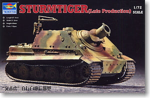 "Trumpeter 1/72 scale model 07247 6 heavy raid car""assault tiger"" late type"