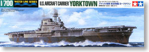 TAMIYA, 1/700, scale, model 31712, World War II Navy, York city class CV-5, York Town aircrafts carrier
