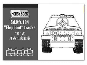 HOBBY BOSS 81006 Sd.Kfz.184 pictorial expulsion chariot link track