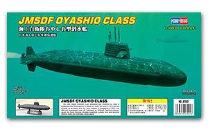Hobby Boss 1/700 scale models 87001 J.M.S.D.F. pro-class submarine