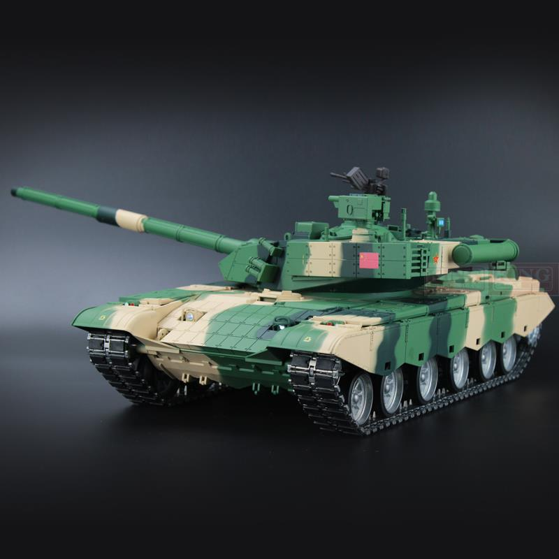 HengLong China Army ZTZ 99A MBT 1/16 scale 2.4Ghz RC main battle tank Ultimate metal version With Smoke, Sound and BB Gun