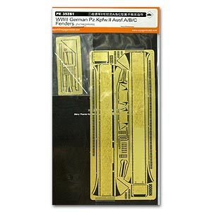 Voyager PE35281 Metal etchings for the revamping of 2 light combat vehicle A / B / C airfoil