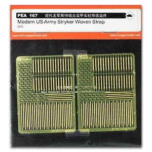 Voyager model metal etching sheet PEA167 American army Rick's ribbon metal etch for armored vehicles