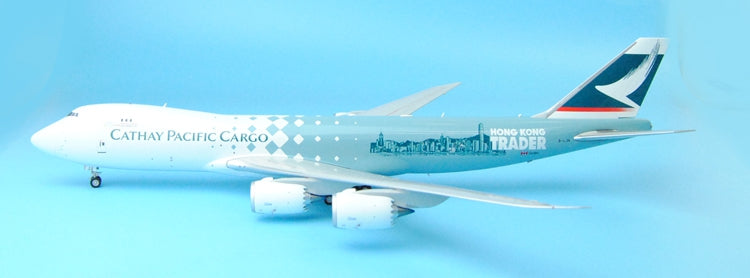 JC Wings XX2793 Hong Kong Cathay B747-8F B-LJA Hong Kong Trader 1:200 cathay pacific cargo