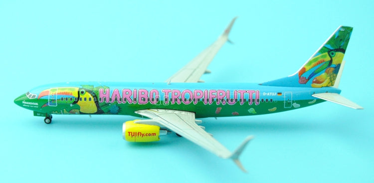 The specials will be sold out: XX4369 German tropical aviation B737-800 tropical fruit.