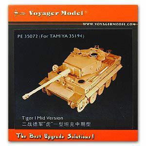 Voyager PE 350726 heavy-duty chariot tiger type medium-term upgrade metal etching part ( for t club )