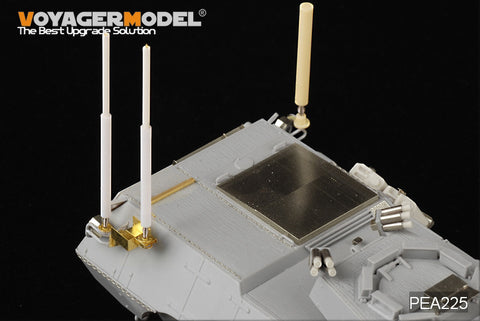 "Voyager model metal etching sheet PEA225 M1117 ""guard"" wheeled armored vehicle ""rhinoceros"" IED jammer and antenna"
