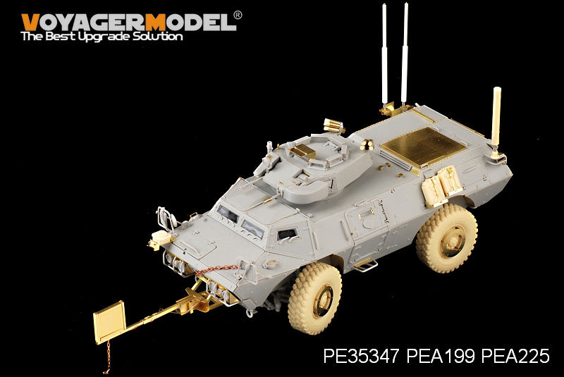 "Voyager PE35347 M1117 ""guard"" 4X4 wheeled armored vehicle upgrade metal etching parts"