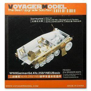 Voyager PE35241 Sd.Kfz.250/1 NEU semi track armored personnel carrier foundation metal etch