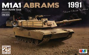 Rye Field 1/35 scale model RM5006 M1A1 Abrams 1991