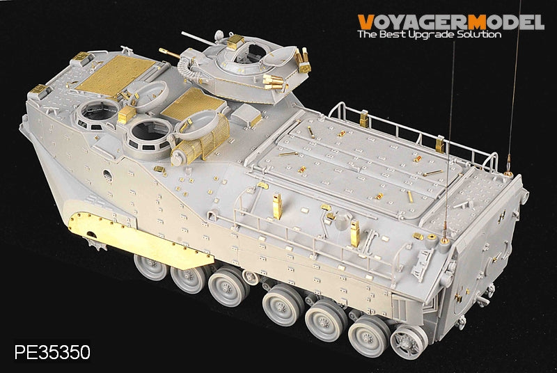 Foyager PE3550 AAVP-7A1 RAM / RS modified amphibious personnel carrier upgrade with metal etching