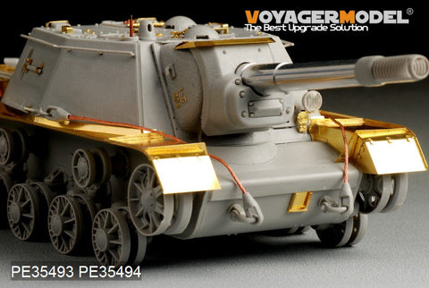 "Voyager PE35494 SU-152 ""Hunters"" self-propelled artillery late type wing plate upgrade etching"