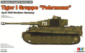 "Rye Field 1/35 scale model RM50056 heavy chariot Tiger Hybrid ""Fellman Battle Group Aisol 1945"""