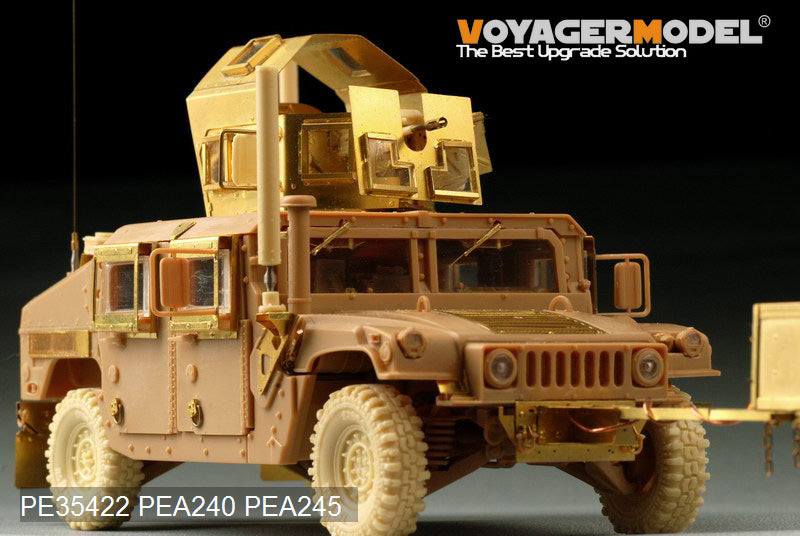 "Voyager model metal etching sheet PE35422 M1151 ""Hummer"" additional armoured upgraded metal etching parts"
