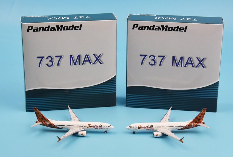 Special new products: PandaModel Indonesia barze aviation B737 Max8 Malaysia 1:400