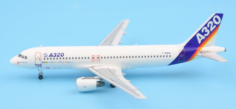 Special offer: Panda Model Airbus original A320-100 F-WWAI MSN-001 1: 400