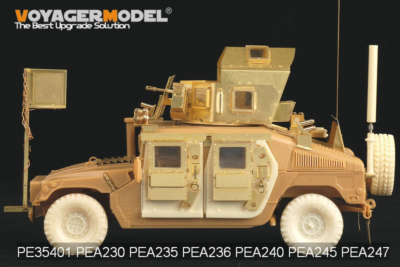 "Voyager PEA247 ""Hummer"" combat vehicle O-GPK sniper weapon tower metal etching"