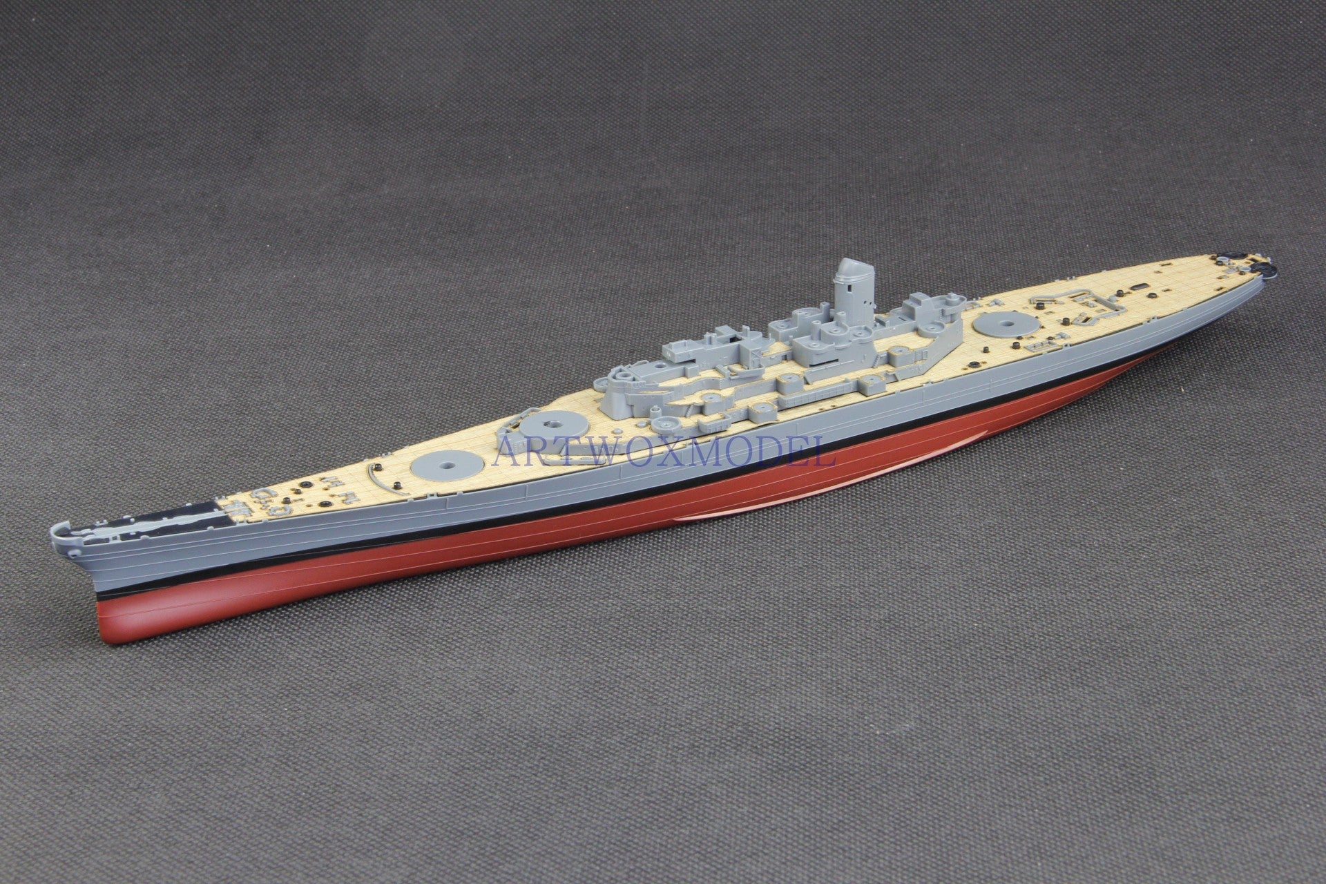 ARTWOX MENG PS-004 US Missouri Battleship Gas-Free Precolor Wood Deck AW20174