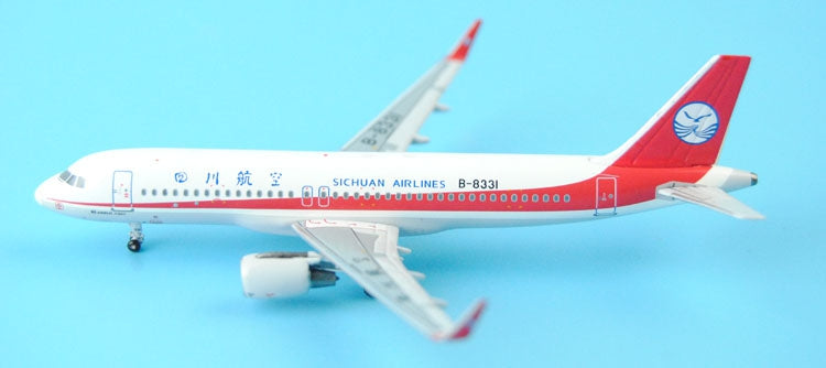 Special offer: PandaModel Sichuan Airlines A320/w B -8331 CFM engine 1:400
