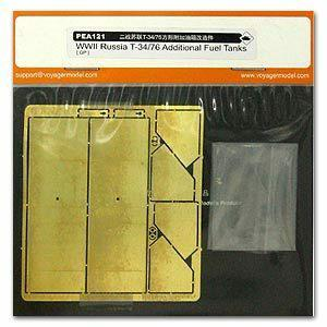 Voyager model metal etching sheet PEA121 T-3476 additional square fuel tank metal etch