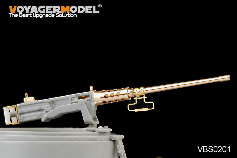 Voyager model metal etching sheet VBS 0201 modern browning m2hb heavy machine guns on-board type upgraded metal etcher