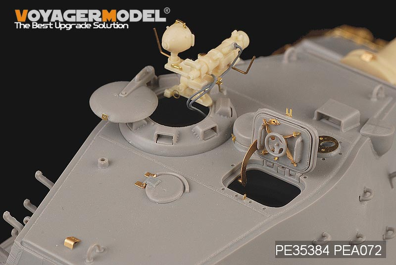 Voyager PE35384 World War II German E-75 planned tank upgrade metal etching pieces