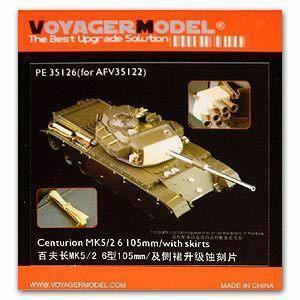 Voyager PE35126 centurion MK.5/2 6 upgrade of main battle tanks using metal etched parts