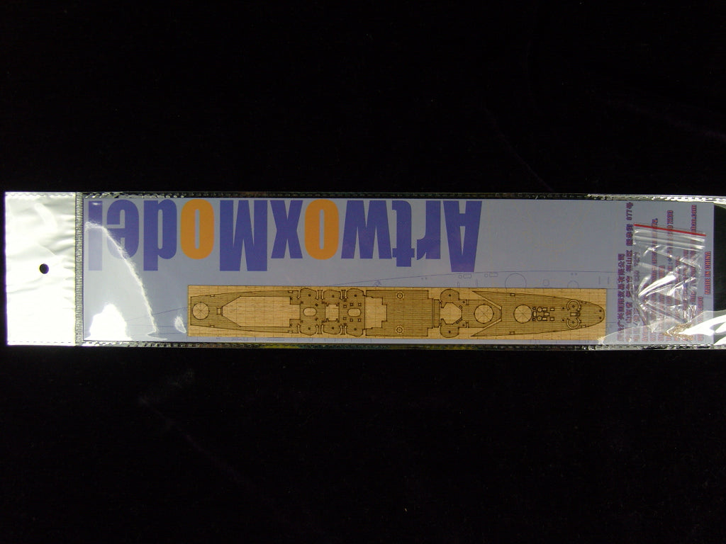 ARTWOX Trumpeter 05743 US dollar New Orleans class CA-34 Astoria wood deck AW200700