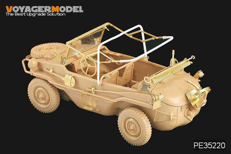 Voyager PE 35220 german 166 amphibious jeep metal etching kit for world war ii