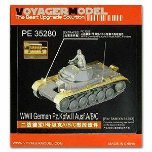 Voyager model metal etching sheet PE35280 2 light chariot A/B/C upgraded metal etching parts (T Society)