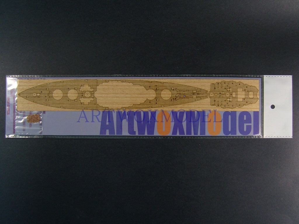 Artwox Trumpeter 05769 US Navy Maryland BB-46 1941 wooden deck AW20093