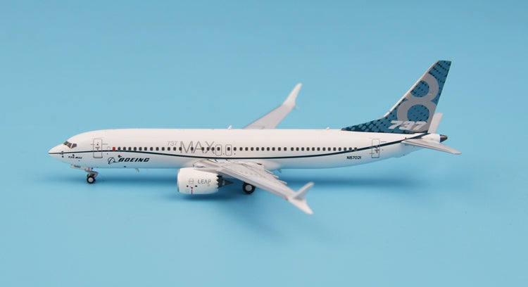 New products: PandaModel B737 MAX8 1:400