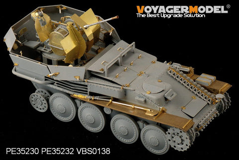 "Voyager PE 35232 38 ( t ) "" jaguar"" upgrades metal etchings to air combat car fenders"