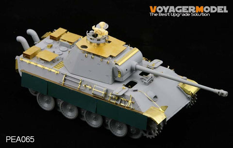 Voyager PEA065 No. 5 tank Leopard A/Leopard G vehicle Air Defense additional deck modification metal etching pieces