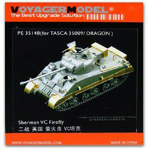 Voyager model metal etching sheet PE35148 1/35 WWII Sherman VC Firefly (For TASCA/DRAGON)