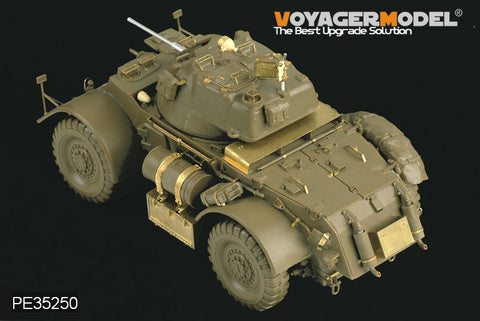 Voyager model metal etching sheet PE 35250 deer hunting dog MK. I wheeled armored vehicle upgrade metal etching part ( I / t )