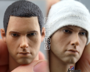 1/6 headplay HP rapper Emminem head carving Headsculpt for action figure