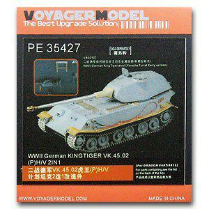 Voyager model metal etching sheet PE35427 VK .45.02(P) H/V Heavy Plan Vehicle Alteration Metal Erosion(Dragon)