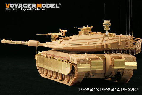"Voyager pea267 merkava 4 main battle tank "" trench coat"" active defense system"