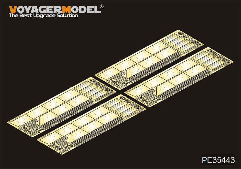 "Voyager model metal etching sheet PE35443 M2A2 Erosion for the conversion of side skirts of the ""Bradley"" infantry fighting vehicle on ODS"