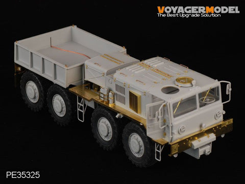 Voyager PE 35325 kzkt - 537 l heavy haul truck upgrade metal etched sheet